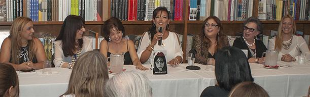Maria Elena Lavaud y Nina Dotti Presentación Tatuaje de Lágrimas